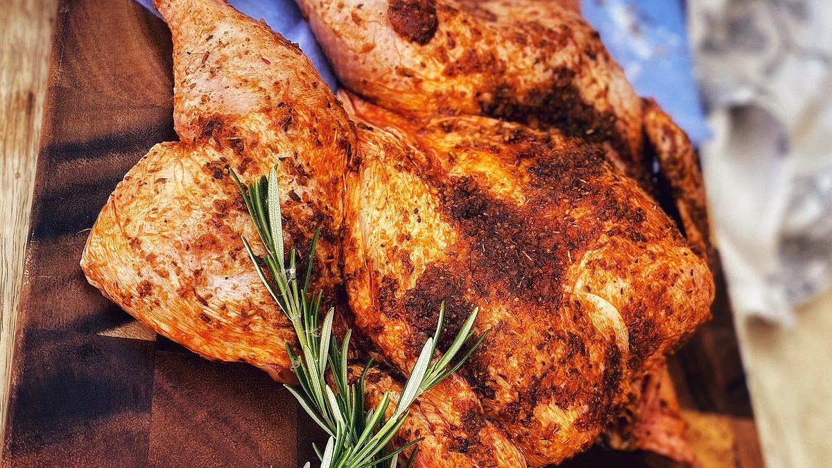 Tuscan Fennel & Lemon Spatchcock Chicken