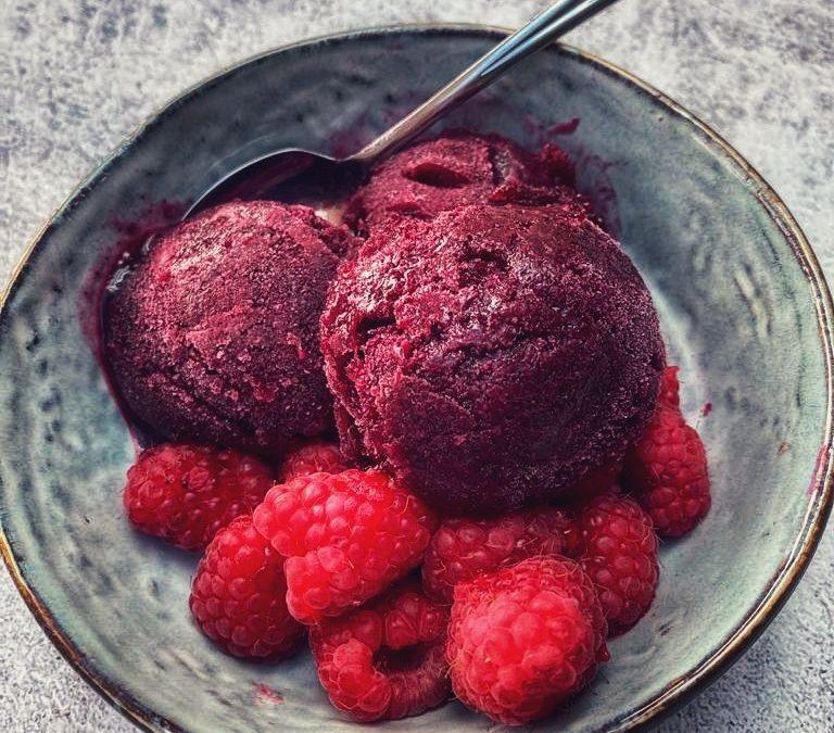 Blueberry & Limoncello Sorbetto